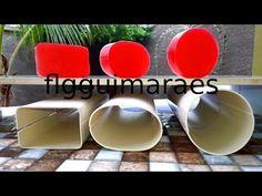 Como Fazer Molde ou Forma em Cano de PVC para Sabão ou Sabonete