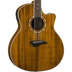 Buy Dean Exotica Koa Wood Acoustic Electric Guitar EKOA at ZoZo Music