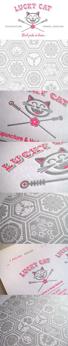 Quirky Letterpress Business Cards #LoveLetterpress