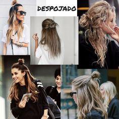 O penteado que vai estar em alta no verão 2016 é o meio coque, vem se inspirar e veja como fazer.
