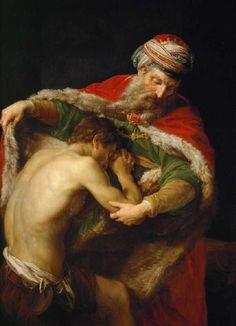 Batoni, Pompeo Girolamo : El regreso del hijo pródigo