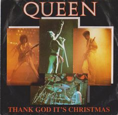 """QUEEN Thank God It's Christmas 1984 Portugal Issue Very Rare 7"""" 45 rpm Vinyl Single Record Rock Pop 80s Freddie Mercury 2004347 Free S&h"""