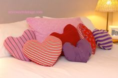Sweetheart Pillow Upcycle