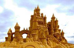 Festival de esculturas de arena de BélgicaFestival de esculturas de arena de Bélgica