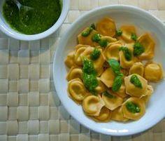 Rezept Ravioli mit Ricotta-Pesto-Füllung von Colette - Rezept der Kategorie sonstige Hauptgerichte