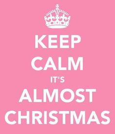 "Hurrah for the ""bers!"" September, October, November, and then DECEMBER!!!"