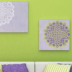 Wall Motif Catherine Lace Doily Stencil | Royal Design Studio