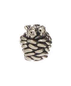 Look at this #zulilyfind! Sterling Silver Lovebird Nest Bead by Moress #zulilyfinds