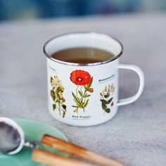 All serious coffee drinkers understand the financial advantages of brewing your own java at home. Coffee Uses, Coffee Drinkers, Cute Mugs, Vintage Coffee, Mug Shots, Mug Cup, Tea Time, Wild Flowers, Tea Pots