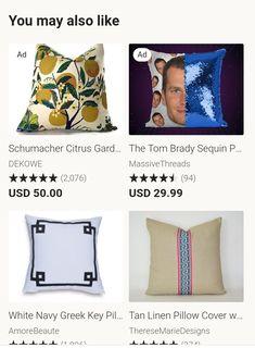 Linen Pillows, Throw Pillows, Cotton Throws, Greek Key, Pillow Covers, Toss Pillows, Pillow Case Dresses, Cushions, Pillow Shams