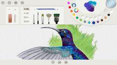 Fresh Paint. Nejlepší aplikace na Windows 8 ke kreslení, na interaktivce funguje nádherně. Umí mnoho barev a realistických štětců, včetně míšení barev. Rozhodně vyzkoušejte. Zdarma.