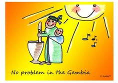 No Problem in the Gambia (© Humble: Loving simplicity in image and text)
