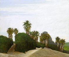 "Marc Bohne - ""Orange Groves Near Bakersfield"""