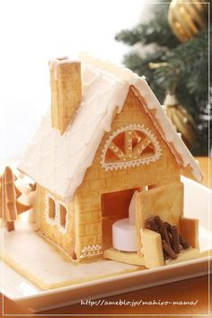 灯りの点るリラックマのお菓子のお家*ヘクセンハウス2014|momoオフィシャルブログ「キミと一緒に ~momo's obentou*キャラ弁~」Powered by Ameba