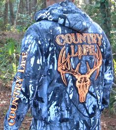 Be seen (or don't be seen) in the New Snow Camo hoodies from www.countrylifeoutfitters.com