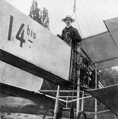 Avião. 1906 - Santos Dumont
