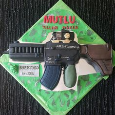 CAFEMORİN AIRSOFT PLAY BIRTHDAY CAKE Airsoft, Cake Decorating, Birthday Cake, Cakes, Play, Birthday Cakes, Mudpie, Cake, Pastries