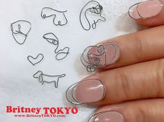 Looking for some nail art inspiration? From New York to Seoul Fashion Week, here are some of the top nail art trends to look out for and try out yourself! Korean Nails, Blue Nail Polish, Paws And Claws, Top Nail, Nail Studio, Brooches Handmade, Nail File, Nail Trends, Aesthetic Girl
