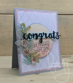 So Happy for You | Stampin\' Up! | Designer Tin of Cards | Best Birds #literallymyjoy #congrats #mintmacaron #watercoloring #bitsandpieces #flowers #wedding #engagement #love #congratulations #anniversary #20162017AnnualCatalog