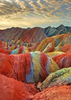 14. #Rainbow Mountains, #China - 36 Astounding Mountain #Views to Leave You in Awe ...