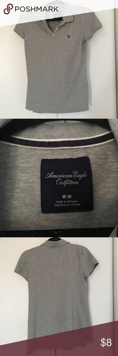 Women's American Eagle Shirt size Med Size medium gray American Eagle Outfitters Tops Tees - Short Sleeve