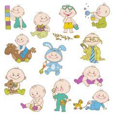 Cartoon Baby, Children, Kids 03