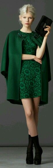 Green outfit for new year fall 2014-2015
