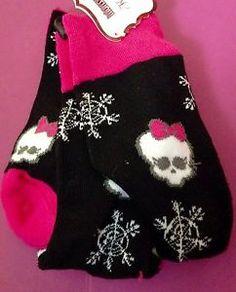 Monster High Girls Knee High Socks New | eBay