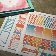 BONUS!  Due to popular demand I've added the LETTER SIZED HAPPY PLANNER version of my kit to the RAINBOW #colorcobundle! You can also find these standalone in my shop! http://ift.tt/1l1r6p4 .  @faryeplans @brittneyndesigns @sweet_caress @printstickshop @letspaperup @simplybeautifulplans @yupiyeipapers @violetpaperprints @colorcodesigns . . #happyplanner #bighappyplanner #printables #printable #printablestickers #planner #planners #plannerstickers #plannergirl #plannernerd #planneraddict…