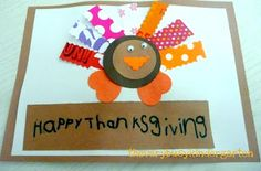 The Very Busy Kindergarten: Thanksgiving Cards for the Elderly