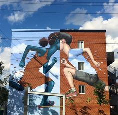 Los gigantescos, originales e increíbles grafitis de Globepainter a lo largo del…