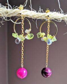Jewellery Earrings, Drop Earrings, Jewelry, Cherry Earrings, Agate, Quartz, Etsy Shop, Crystals, Glass