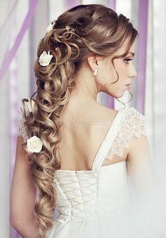 félkontyok - félkonty esküvőre