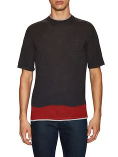 Lanvin Crewneck Pocket T-Shirt