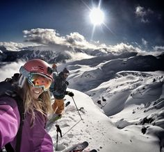 Mountain top selfie from Lynsey Dyer! #GoProGirl #GoPro