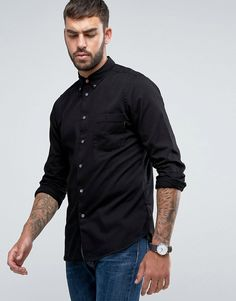 Get this Ps By Paul Smith's denim shirt now! Click for more details. Worldwide shipping. PS by Paul Smith Denim Shirt in Black - Black: Shirt by PS By Paul Smith, Lightweight denim, Button-down collar, Button placket, Chest pocket, Regular fit - true to size, Machine wash, 100% Cotton, Our model wears a size Medium and is 188cm/6'2 tall. Designed in the UK, PS by Paul Smith bears all the hallmarks of Sir Paul Smith�s individual and quintessentially British style. Signature prints are…