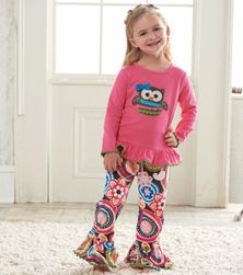 697cd2d1478 Mud Pie Forest Friends Owl Pants Set-Trendy Kids Clothes only  27.99 - Fall  2013