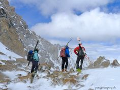Skitouring Patagonia with patagoniatiptop. Ski Touring, Volcano, Alps, Patagonia, Mount Everest, Skiing, Tours, Adventure, Mountains