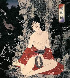 Takato Yamamoto was born in Akita prefecture (Japan) in After graduating from the painting department of the Tokyo Zokei University, he experimented with the Ukiyo-e Pop style Ero Guro, Yamamoto, Art Kawaii, Art Asiatique, Traditional Japanese Art, Art Japonais, Arte Horror, Japanese Painting, Japanese Prints