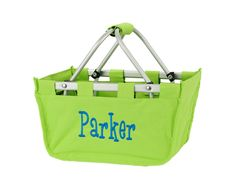 $26 Mini Market Totes ~ Perfect for Easter Baskets! Fill with special treats!  www.perfect-pair.com