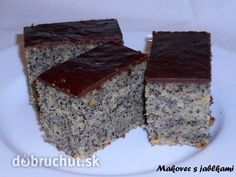 Veľmi chutný a šťavnatý zákusok. Czech Desserts, Sweet Desserts, Sweet Recipes, Dessert Recipes, Czech Recipes, Sweet Cakes, Something Sweet, Cupcake Cakes, Easy Meals