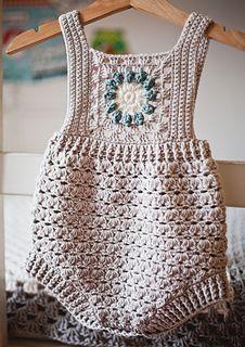 Bobble Crochet, Mode Crochet, Crochet Romper, Bag Crochet, Crochet Baby Clothes, Crochet Granny, Crochet Hooks, Crochet Edgings, Crochet Motif