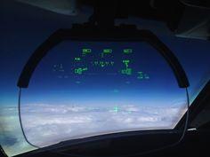 Thin air at 51,000 feet.