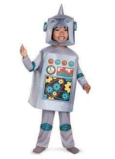 A Robot to do all Austin's chores... ;) Child Retro Robot Costume