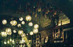 Marrokaanse lampen, heel sfeervol en speels en niet duur