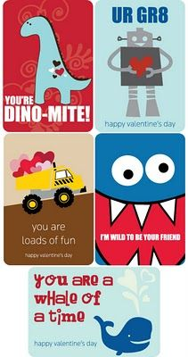 Darling printable valentines for kids! #valentines #printable