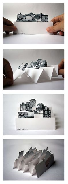 Origami Diy Kirigami Pop Up 53 New Ideas Kirigami, Pop Up Art, Diy Paper, Paper Art, Paper Crafts, Paper Engineering, Origami Fashion, Handmade Books, Book Making