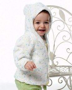 Baby Knitting Pattern Hoodie With Ears : Image of Modern Raglan Cardigan (make in turquoise and ...