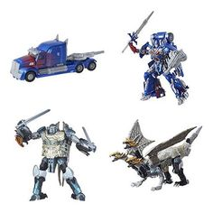 Transformers The Last Knight Premier Leader Wave 2 Rev 1(Dragonstorm & Optimus) | eBay