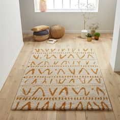 Kaylon Berber-style Rug LA REDOUTE INTERIEURS Bring must-have Berber accents into your home this season with a rug from our Kaylon range. Inspired by timeless artisanal techniques, this rug is. Carpet Mat, Rugs On Carpet, Rug Inspiration, Boho Living Room, Accent Rugs, Cool Rugs, Decoration, Animal Print Rug, Area Rugs
